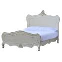 Boudoir Provence Antique Silver Bed