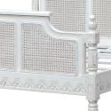 Astonia Antique White Bed