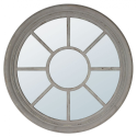 Architectural Soft Grey Mirror