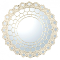 White Clay Paint Persian Constellation Mirror