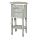 French Grey Cabinet