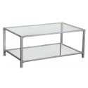 Gin Shu Parisienne Metal Long Low Coffee table