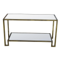 Gin Shu Parisienne Metal rectangle Coffee table