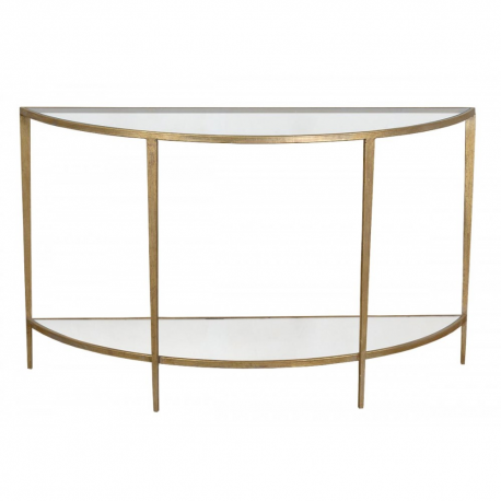 Gin Shu Parisienne Metal Semi-circular Table