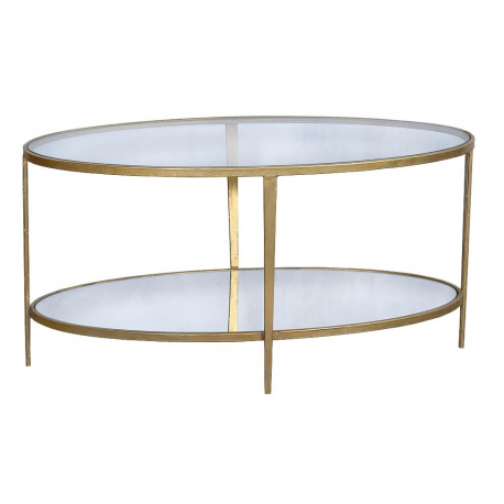 Gin Shu Parisienne Metal Round Coffee Table