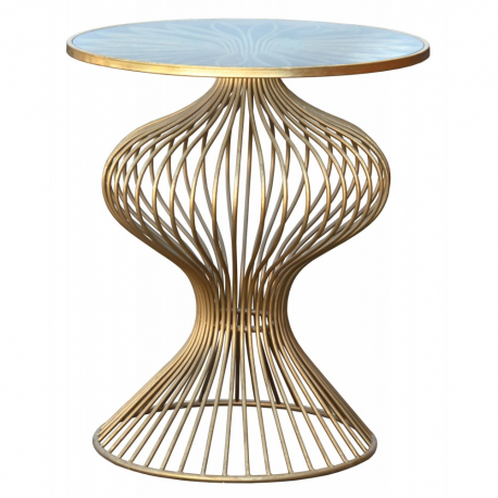 Gin Shu Parisienne Round Metal Table