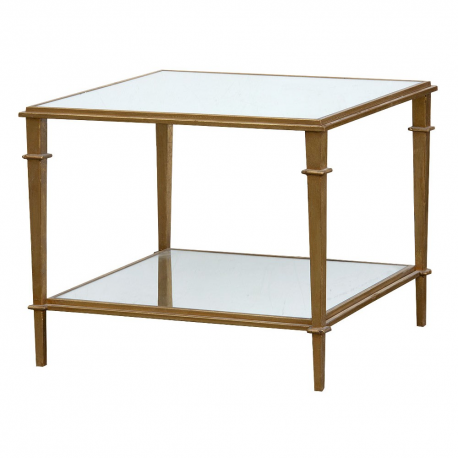 Gin Shu Colonial Metal Occasional Table