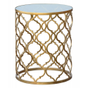 Gin Shu Parisienne Metal Circular Table
