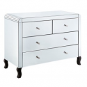 Mirrored 2+2 Chest of Drawers