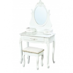 Florentine Dressing Table in White