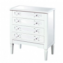 Estonia 4 drawer Chest of Drawers
