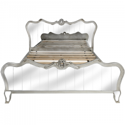Argente King Size Mirrored Bed