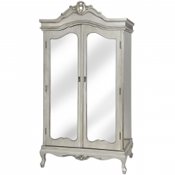 Argente Mirrored Wardrobe
