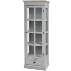 Churchill Collection One Draw Glazed Display Unit