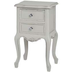 Fleur 2 Drawer Side Table