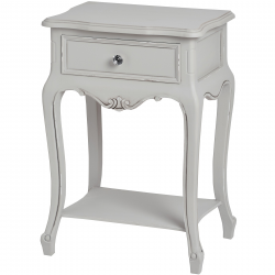 Fleur 1 Drawer Lamp Table