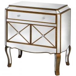 Venetian Styled Mirrored Cabinet