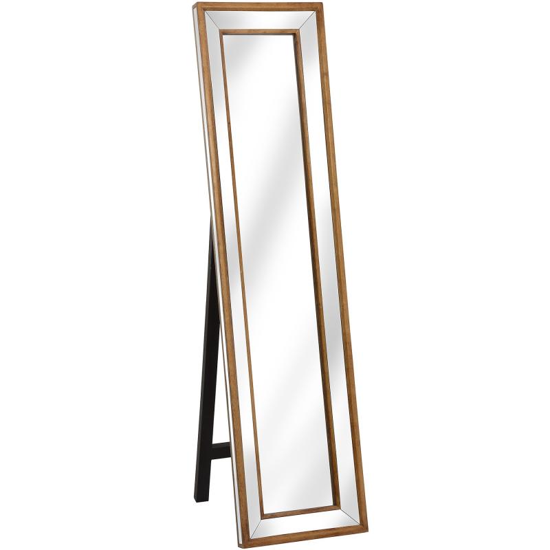 Venetian Mirrored Cheval Mirror