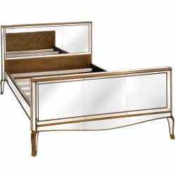 Venetian Mirrored Bed