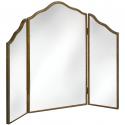 Venetian Mirrored Range Three Way Dressing Table Mirror