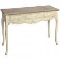 Country Hill Three Drawer Console Table