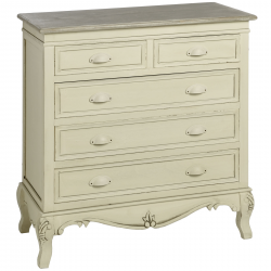 Country 5 Drawer Chest