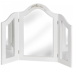 White Whisper Dressing Table Mirror