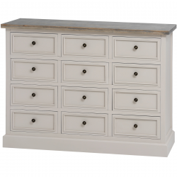 The Stadley Collection 12 Drawer Chest