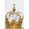 Extra Large Gold Decorative Iron Crown