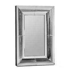 Large Duel Curve Border Venetian Mirror