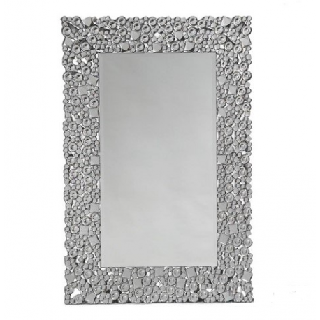 Rectangular Glitz Venetian Wall Mirror