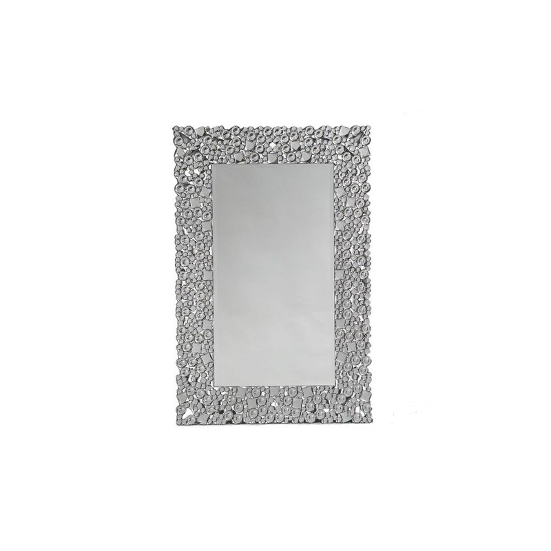 Rectangular Glitz Venetian Wall Mirror