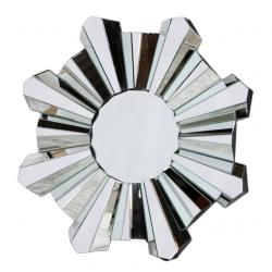 Round Venetian Star Burst Mirror
