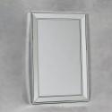Medium Venetian Pearled Style Edge 'Mayfair' Glass Wall Mirror