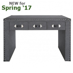 Grey Brook Trunk Style Console Table