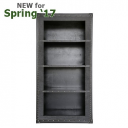 Grey Brook Trunk Style Bookcase