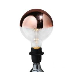 LED 3w Large Globe Retro Filament Bulb with Copper Crown (E27 Large Edison Screw)