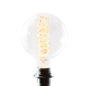 Retro Extra Large Spiral Filament Globe Screw Bulb (E27 40w 18x12cm)