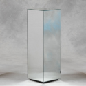 Clear Mirrored Pedestal
