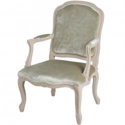Mushroom Grey Occasional Arm Chair
