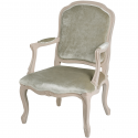 Mushroom Grey Occasional Arm Chair