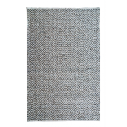 Large Natural Woollen Bohemian Rug