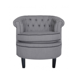 Grey Carter Occasional Chair