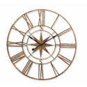 Large Gold Skeleton Clock