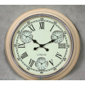 Multi Dial Cream Wall Clock