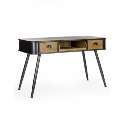 Camden Metal and Wood Desk/Console Table