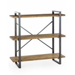 Camden Metal and Wood Shelf Unit
