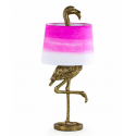 Antique Gold Finished Flamingo Table Lamp