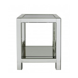 Fabiamma Mirror End Table