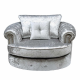 Canterbury Silver Swivel sofa Chair Canterbury Silver Swivel sofa Chair